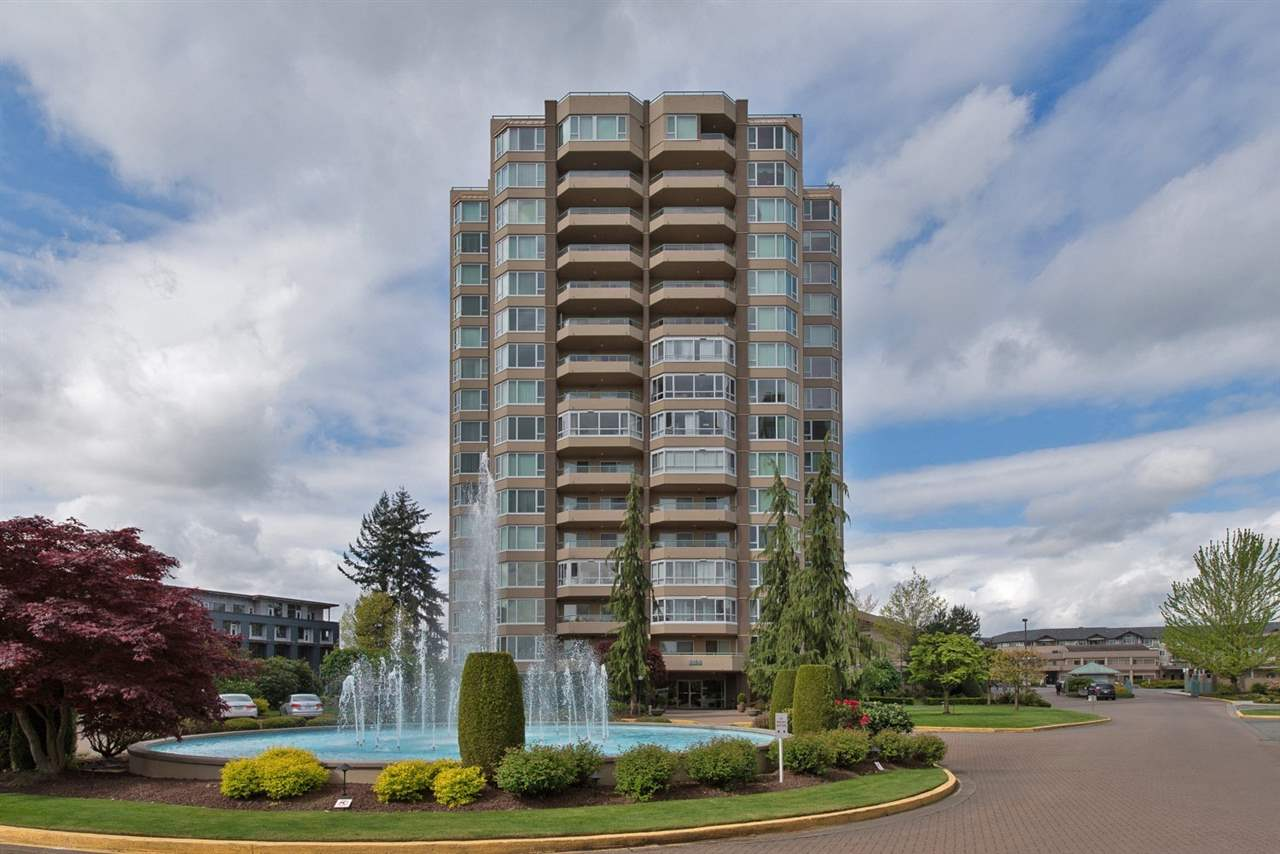 "Main Photo: 706 3150 GLADWIN Road in Abbotsford: Central Abbotsford Condo for sale in ""Regency Park Towers"" : MLS® # R2116354"