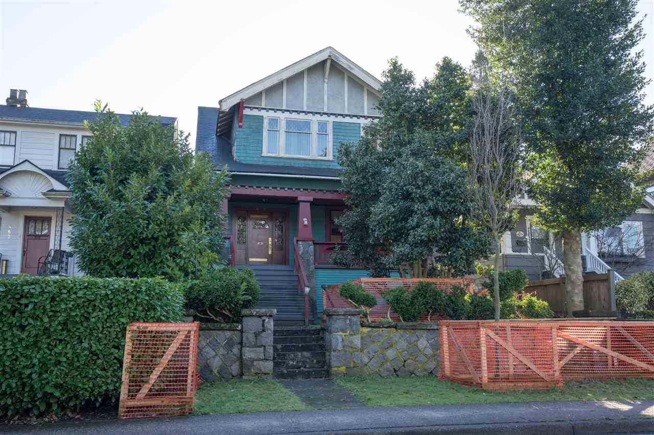 Main Photo: 470 W 17TH Avenue in Vancouver: Cambie House for sale (Vancouver West)  : MLS(r) # R2133586