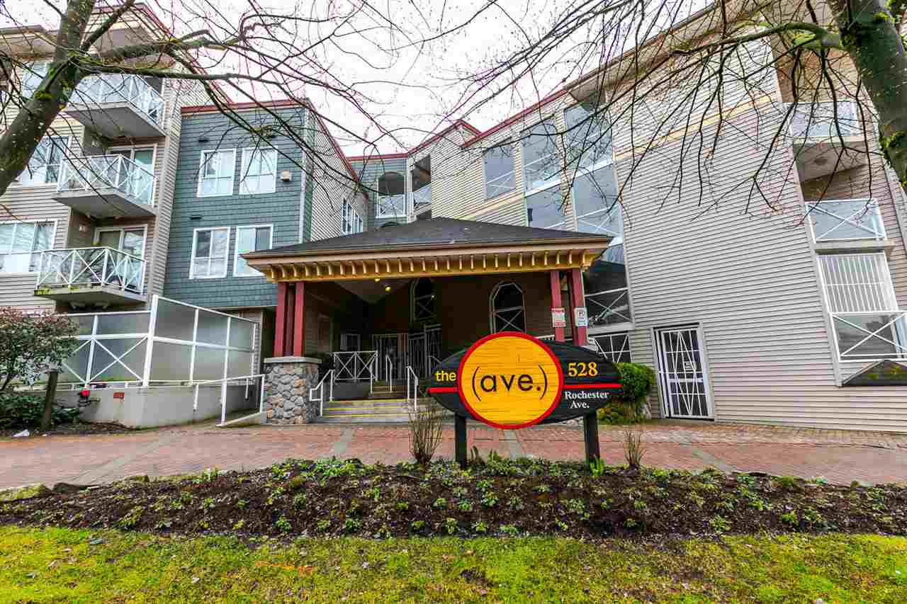 "Main Photo: 203 528 ROCHESTER Avenue in Coquitlam: Coquitlam West Condo for sale in ""THE AVE"" : MLS®# R2145089"
