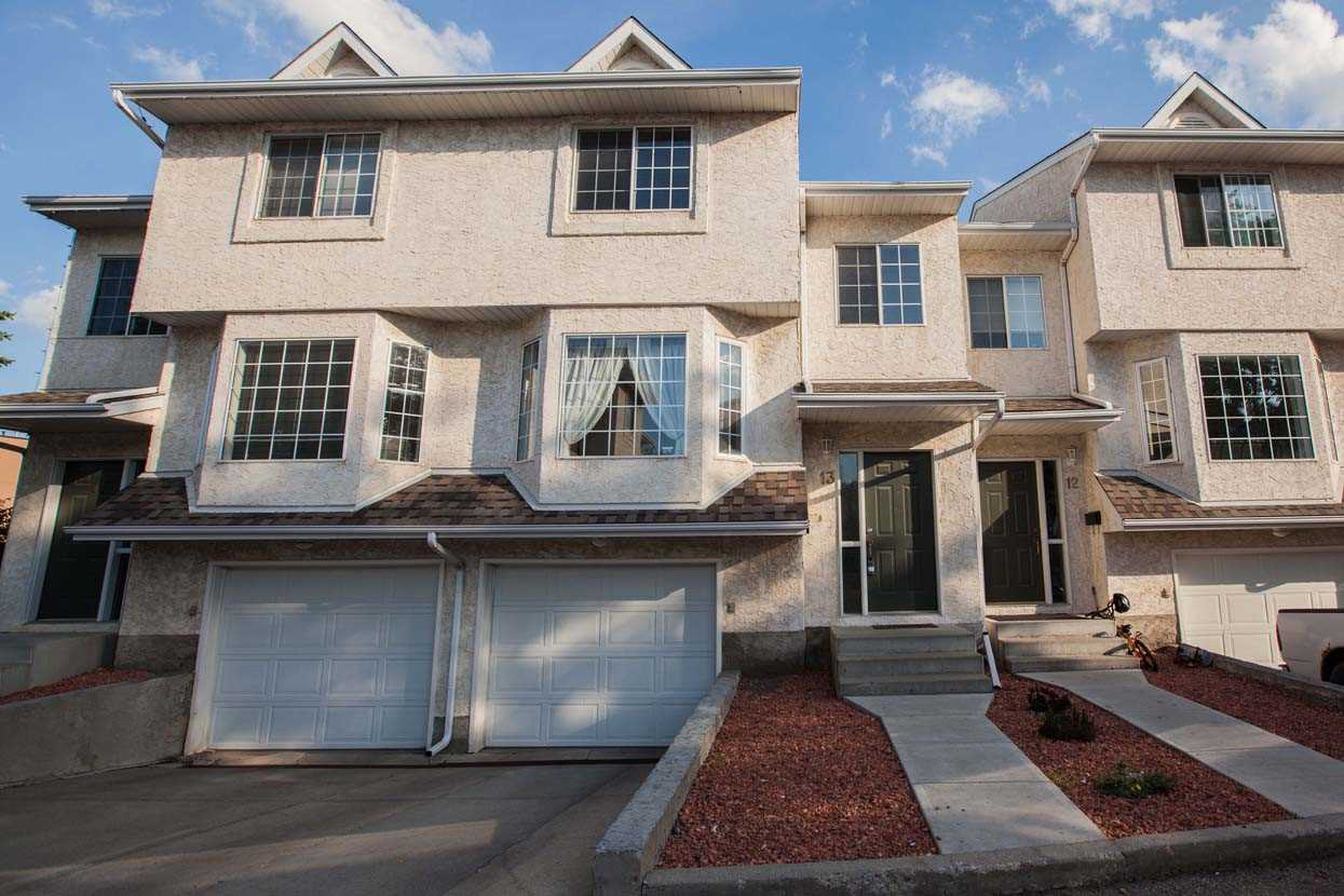 Main Photo: 13 9703 174 Street NW in Edmonton: Zone 20 Townhouse for sale : MLS(r) # E4069462