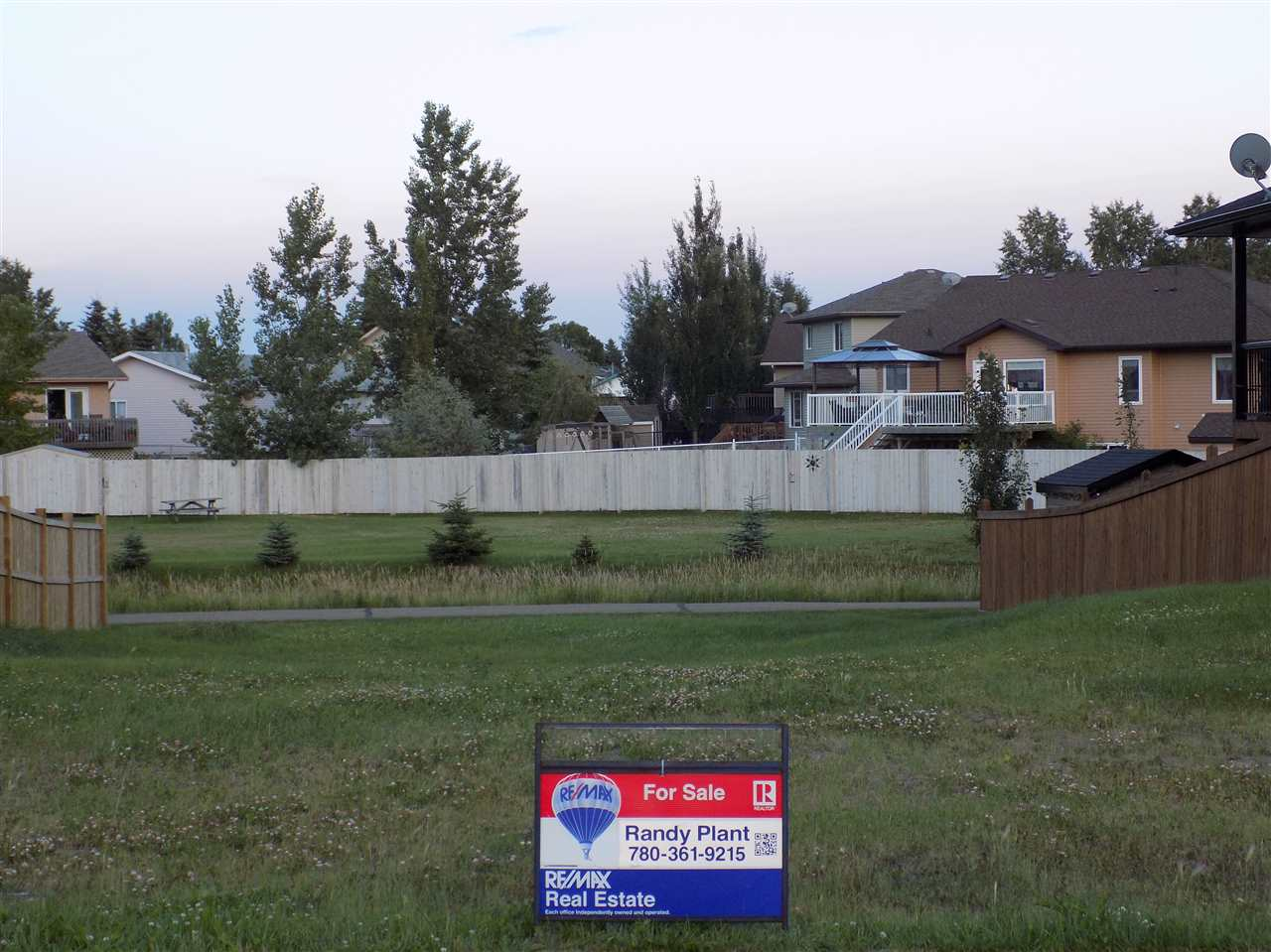 Main Photo: 133 CYPRESS DRIVE: Wetaskiwin Vacant Lot for sale : MLS®# E4074103