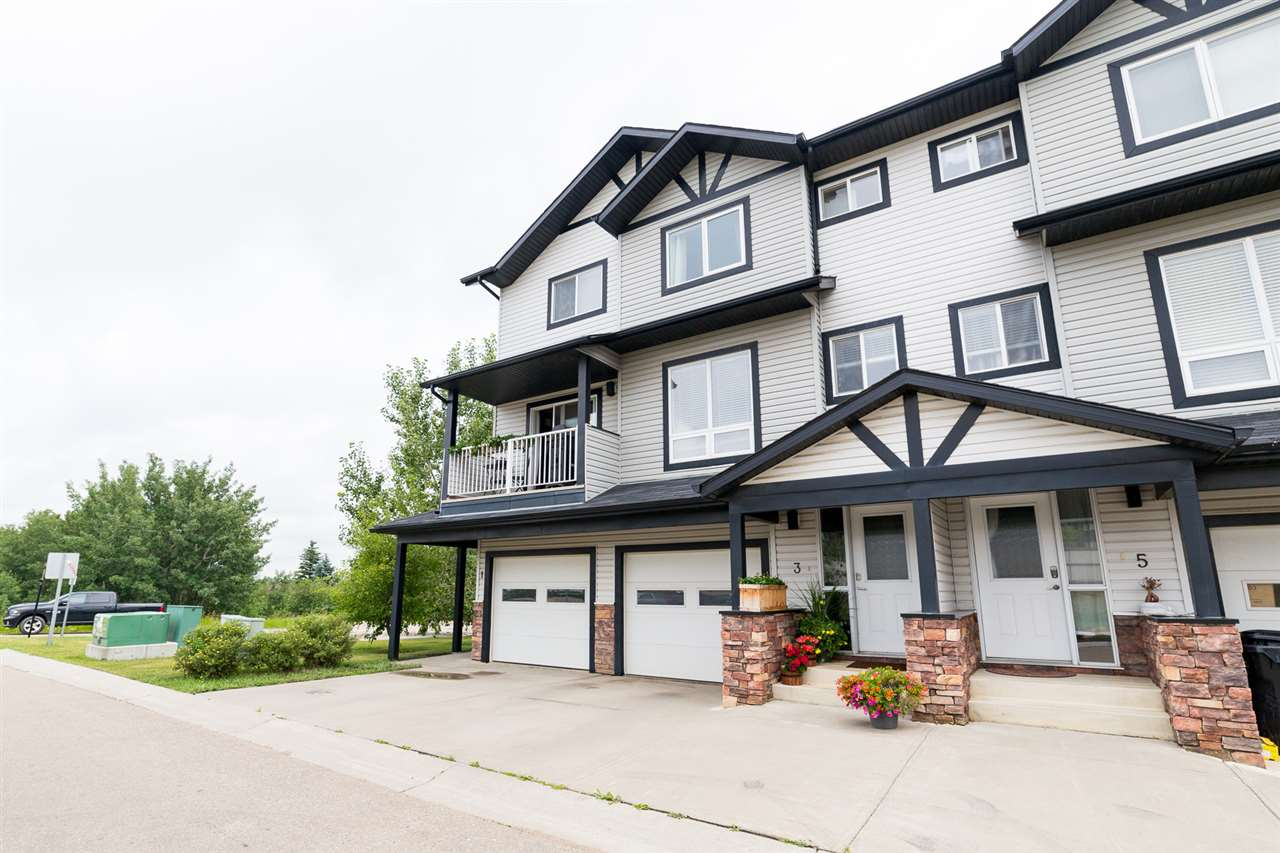 Main Photo: #3 11 Cloverbar Lane: Sherwood Park Townhouse for sale : MLS(r) # E4074810