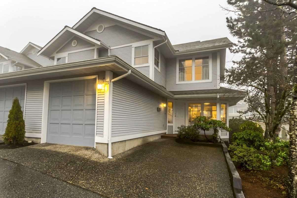 "Main Photo: 21 2590 PANORAMA Drive in Coquitlam: Westwood Plateau Townhouse for sale in ""BUCKINGHAM COURT"" : MLS® # R2231935"