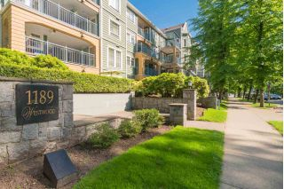 "Main Photo: 105 1189 WESTWOOD Street in Coquitlam: North Coquitlam Condo for sale in ""STRATAWEST"" : MLS®# R2267384"