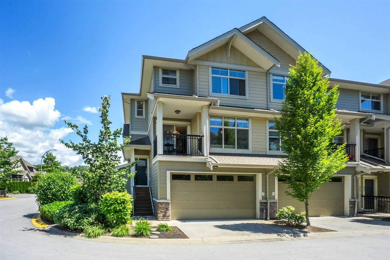 "Main Photo: 55 22225 50 Avenue in Langley: Murrayville Townhouse for sale in ""Murray's Landing"" : MLS®# R2284014"