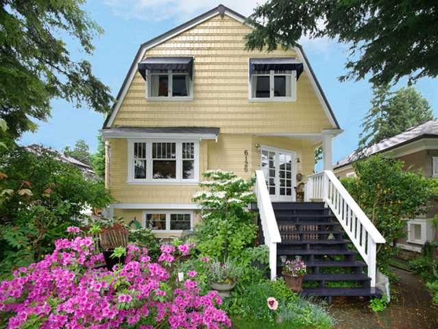 Main Photo: 6126 VINE Street in Vancouver: Kerrisdale House for sale (Vancouver West)  : MLS® # V892675