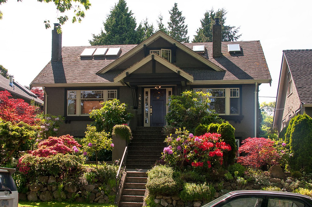 Main Photo: 4643 BLENHEIM Street in Vancouver: Dunbar House for sale (Vancouver West)  : MLS(r) # V1066543