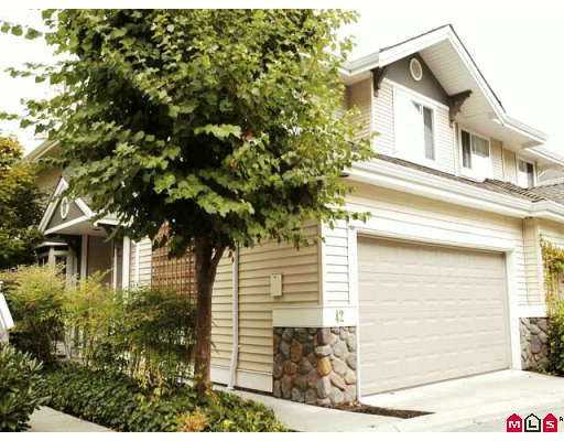 "Main Photo: 6950 120TH Street in Surrey: West Newton Townhouse for sale in ""COUGAR CR."" : MLS®# F2619531"