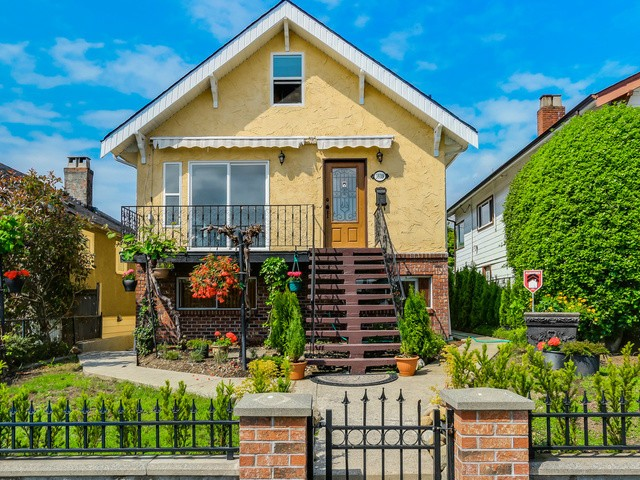 Main Photo: 3639 FRANKLIN Street in Vancouver: Hastings East House for sale (Vancouver East)  : MLS® # V1125412