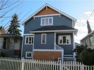 Main Photo: 780 30TH Ave E in Vancouver East: Fraser VE Home for sale ()  : MLS(r) # V935410