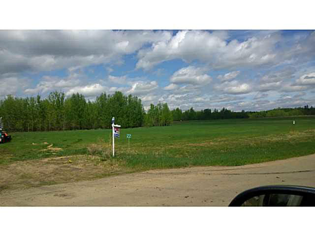 Main Photo: 22 26510 TWP RD 511 Road: Rural Parkland County Rural Land/Vacant Lot for sale : MLS® # E3433761