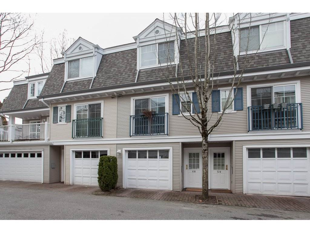 "Main Photo: 60 8930 WALNUT GROVE Drive in Langley: Walnut Grove Townhouse for sale in ""Highland Ridge"" : MLS®# R2141286"
