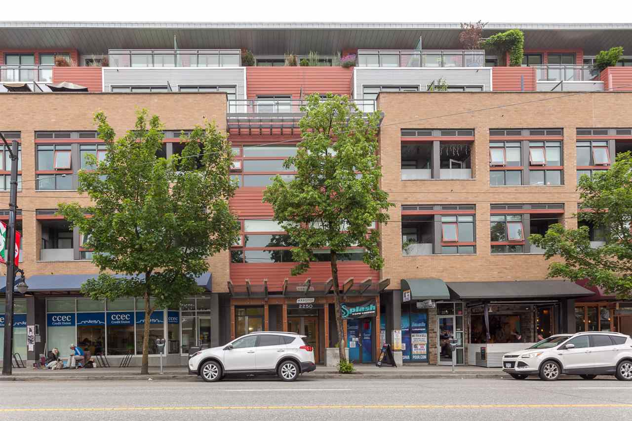 "Photo 2: 217 2250 COMMERCIAL Drive in Vancouver: Grandview VE Condo for sale in ""MARQUEE"" (Vancouver East)  : MLS® # R2173556"