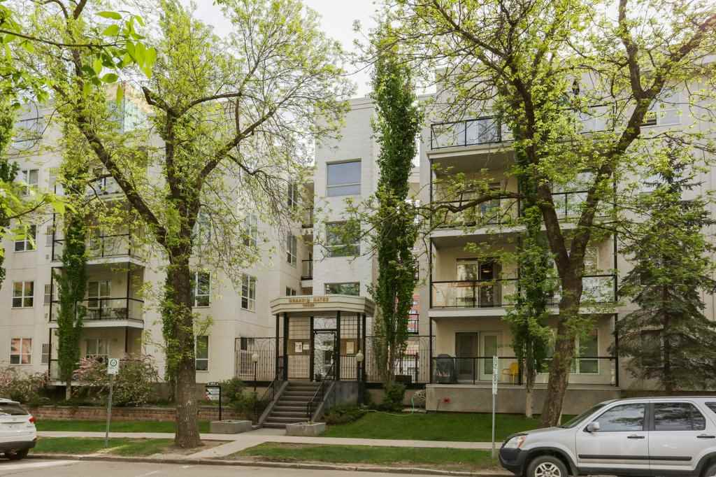 Main Photo: 214 10033 110 Street in Edmonton: Zone 12 Condo for sale : MLS(r) # E4068223