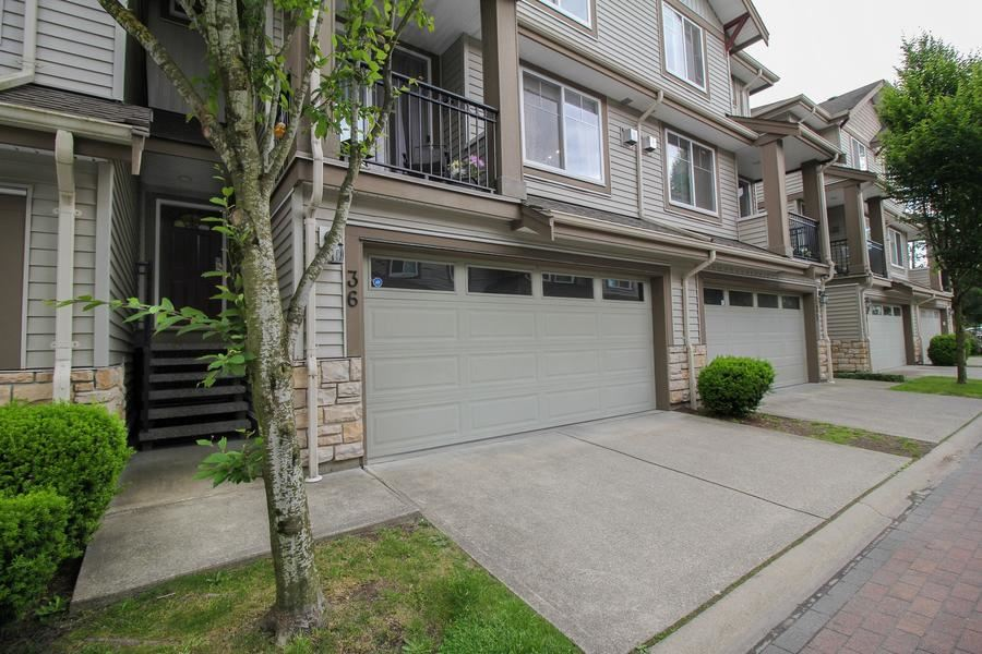"Main Photo: 36 14453 72 Avenue in Surrey: East Newton Townhouse for sale in ""Sequoia Green"" : MLS(r) # R2176231"