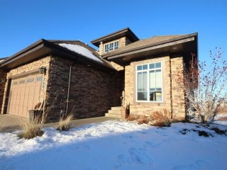 Main Photo: 240 Ambleside Drive in Edmonton: Zone 56 House Half Duplex for sale : MLS® # E4090342