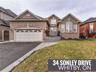 Main Photo: 34 Sonley Drive in Whitby: Taunton North House (Bungalow) for sale : MLS® # E4023241