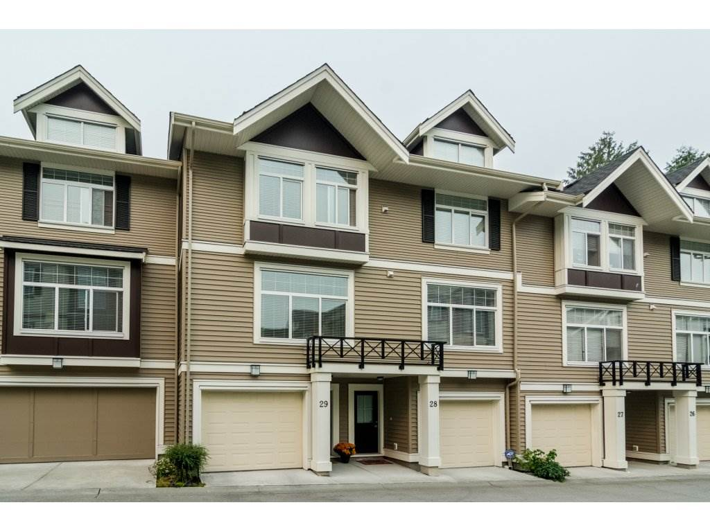 "Main Photo: 29 14377 60 Avenue in Surrey: Sullivan Station Townhouse for sale in ""BLUME"" : MLS® # R2238724"