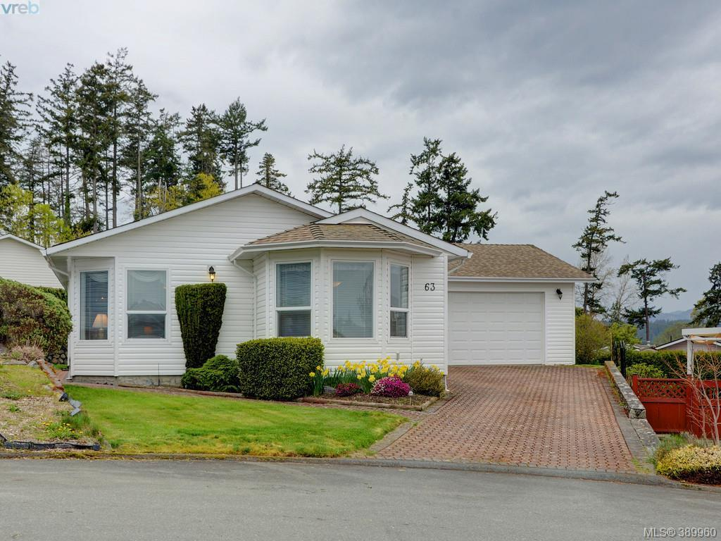 Main Photo: 63 Salmon Court in VICTORIA: VR Glentana Manu Double-Wide for sale (View Royal)  : MLS®# 389960