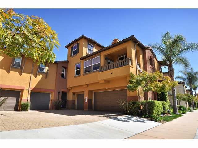 Main Photo: MISSION VALLEY Townhome for sale : 3 bedrooms : 2653 Prato Lane in San Diego