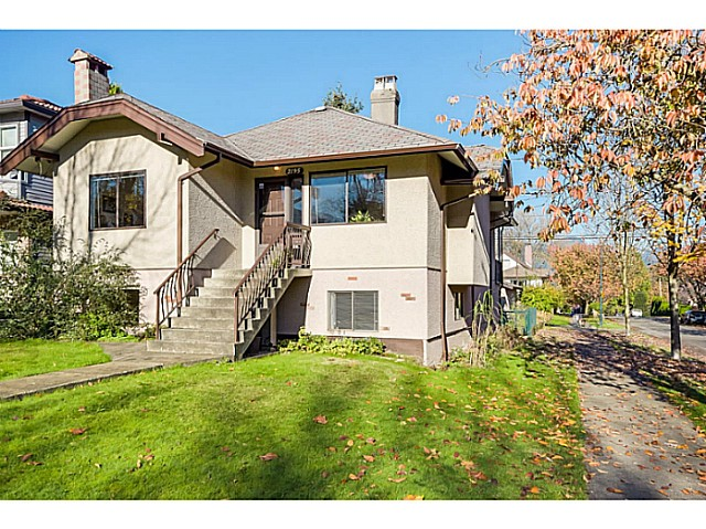 Main Photo: 2195 NAPIER Street in Vancouver: Grandview VE House for sale (Vancouver East)  : MLS® # V1093375