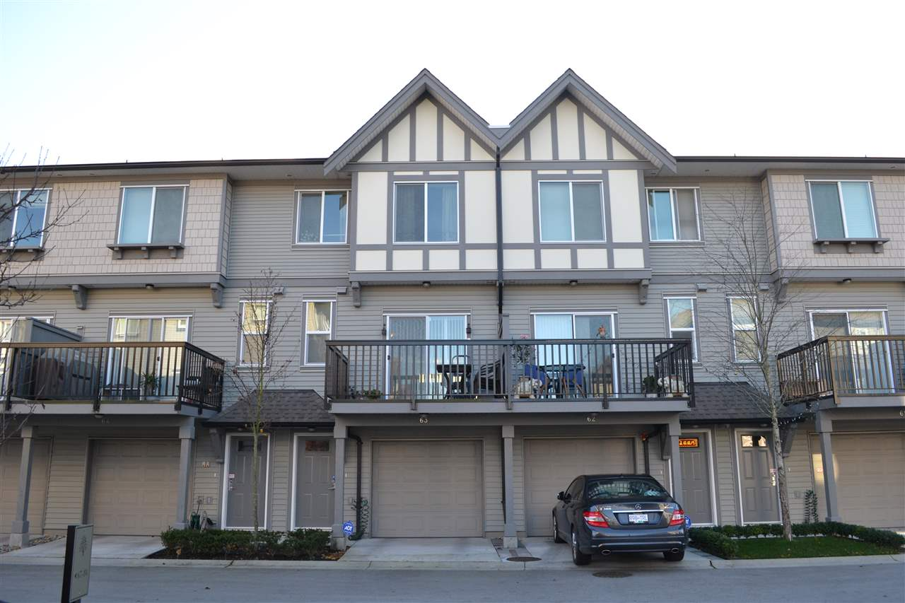 "Main Photo: 63 9566 TOMICKI Avenue in Richmond: West Cambie Townhouse for sale in ""Wishing Tree"" : MLS®# R2101813"