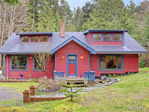 Main Photo: 2823 Woodhaven Road in SHIRLEY: Sk French Beach Single Family Detached for sale (Sooke)  : MLS®# 375454