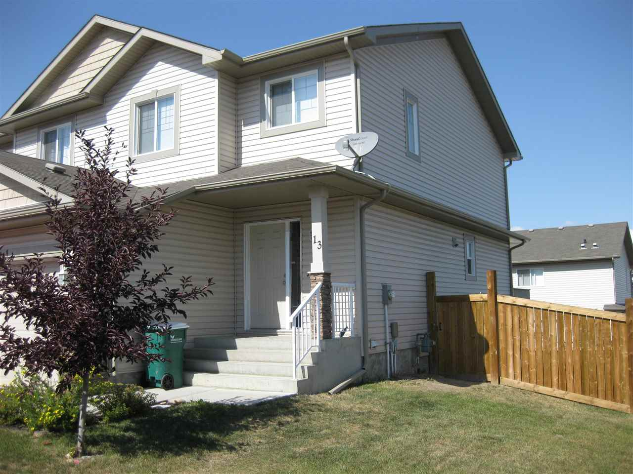 Main Photo: #13 85 Spruce Village Drive W: Spruce Grove House Half Duplex for sale : MLS(r) # E4057642