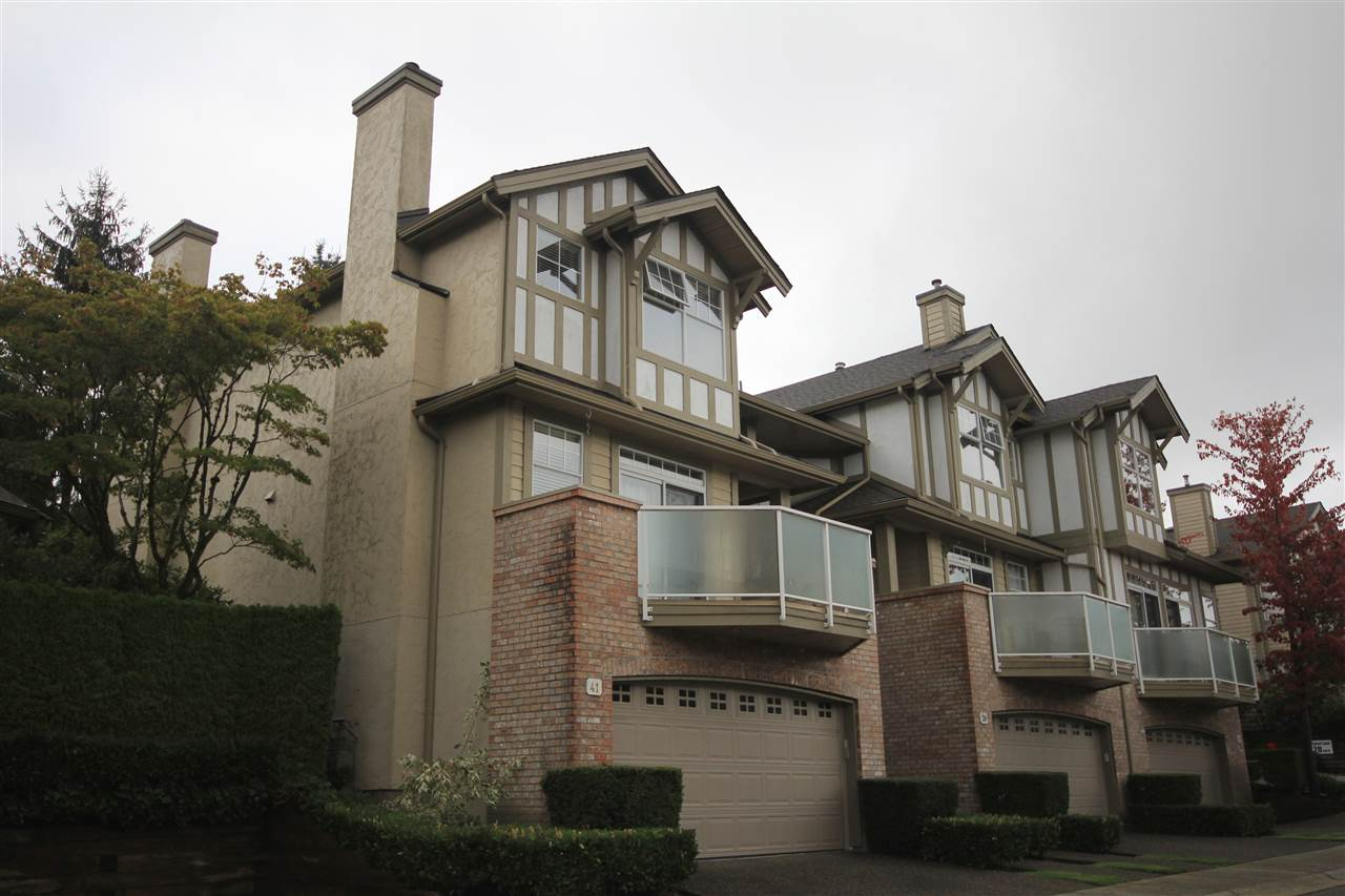 "Main Photo: 41 5221 OAKMOUNT Crescent in Burnaby: Oaklands Townhouse for sale in ""SEASONS"" (Burnaby South)  : MLS® # R2164829"