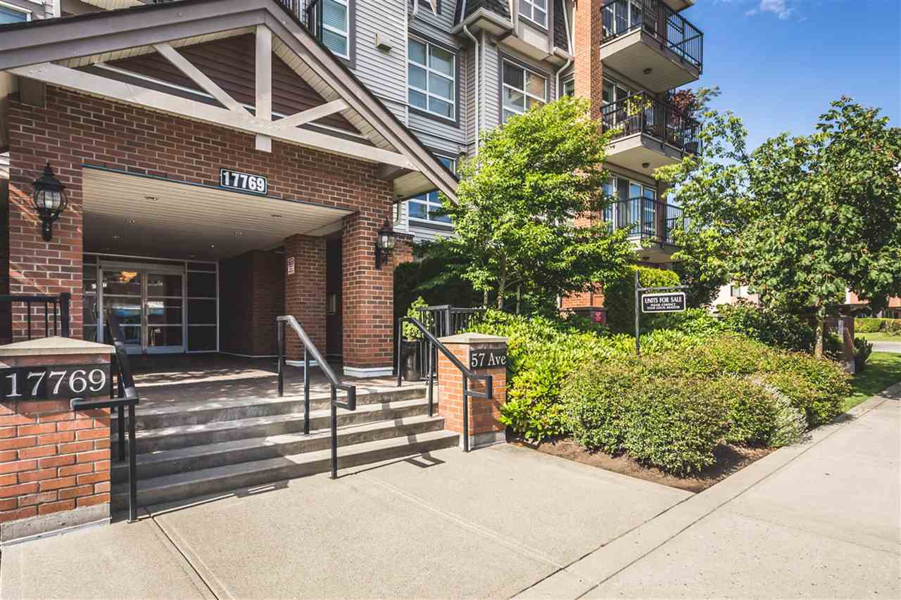 Main Photo: 206 17769 57 Avenue in Surrey: Cloverdale BC Condo for sale (Cloverdale)  : MLS®# R2177795