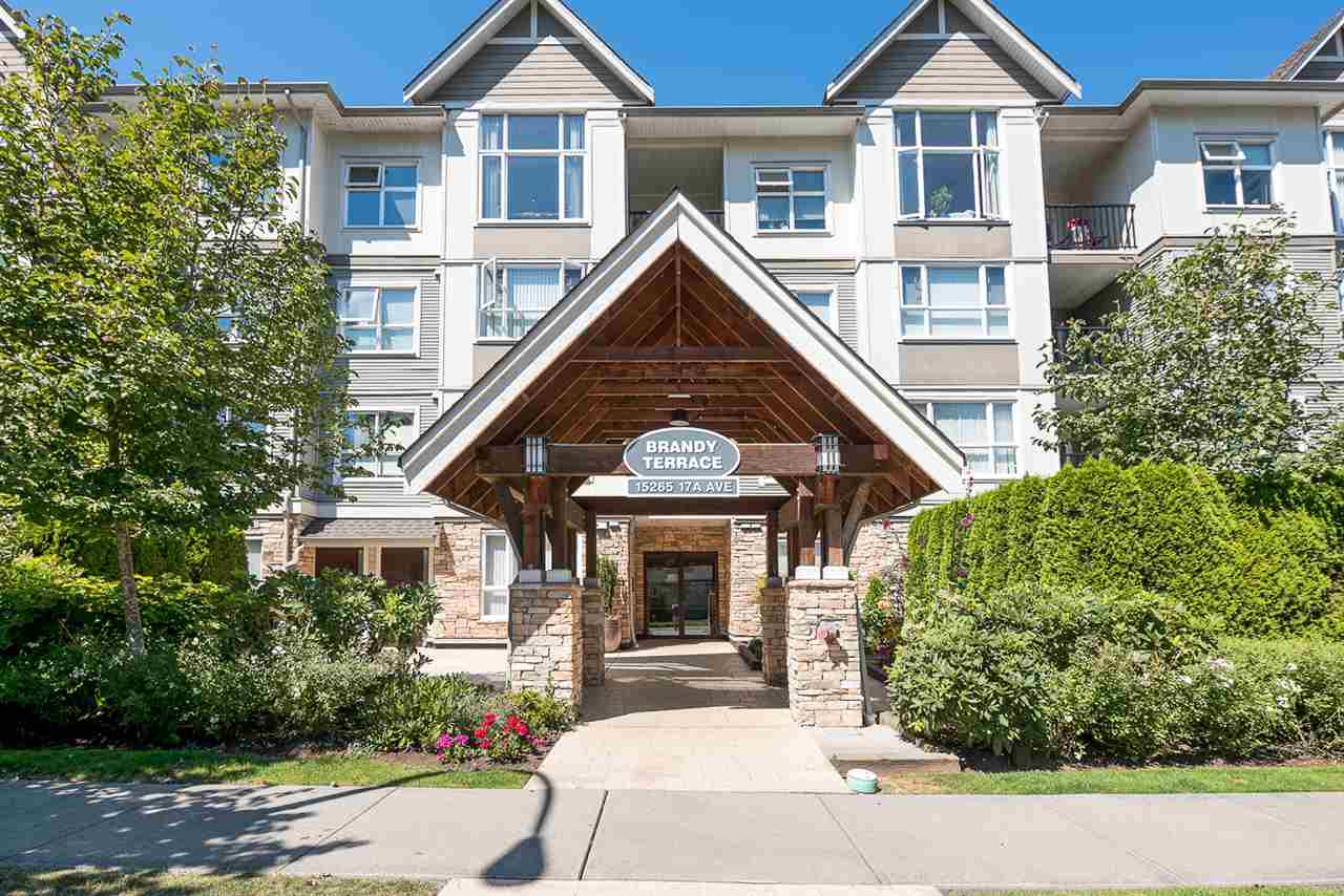 "Main Photo: 207 15265 17A Avenue in Surrey: King George Corridor Condo for sale in ""Brandy Terrace"" (South Surrey White Rock)  : MLS(r) # R2178367"