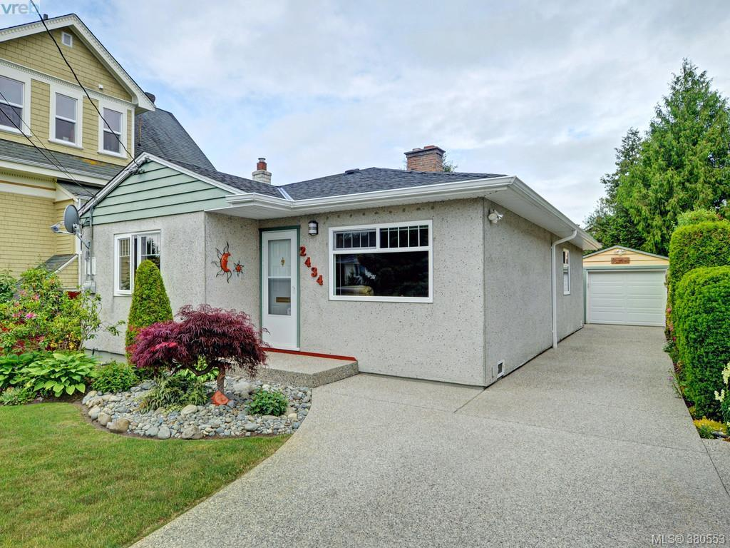 Main Photo: 2434 Dryfe Street in VICTORIA: OB Henderson Single Family Detached for sale (Oak Bay)  : MLS® # 380553