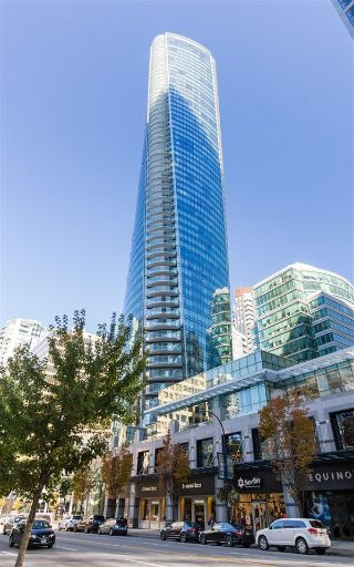 "Main Photo: 4703 1151 W GEORGIA Street in Vancouver: Coal Harbour Condo for sale in ""TRUMP TOWER"" (Vancouver West)  : MLS® # R2214283"