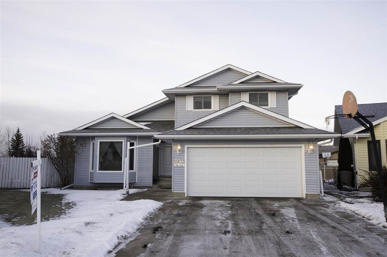 Main Photo: 18633 74 Avenue NW in Edmonton: Zone 20 House for sale : MLS® # E4093374