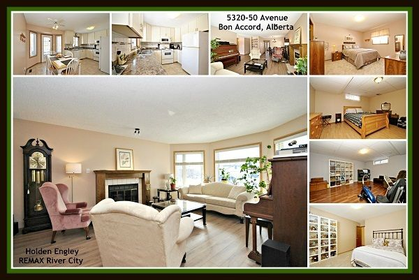 Main Photo: 5320 50 Avenue NW: Bon Accord House for sale : MLS®# E4104720