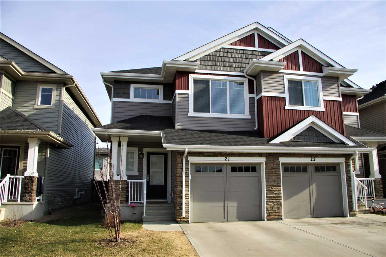 Main Photo: 21 2004 TRUMPETER Way in Edmonton: Zone 59 Townhouse for sale : MLS®# E4108664