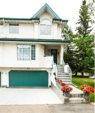 Main Photo: 31 882 RYAN Place in Edmonton: Zone 14 Townhouse for sale : MLS®# E4125240