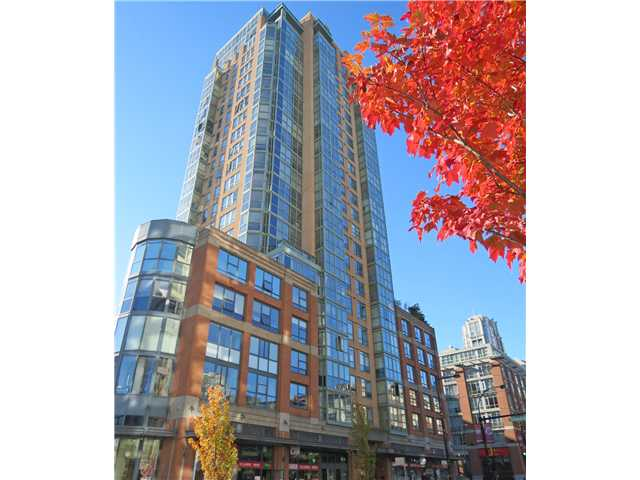 "Main Photo: 702 212 DAVIE Street in Vancouver: Yaletown Condo for sale in ""PARKVIEW GARDENS"" (Vancouver West)  : MLS®# V1033668"