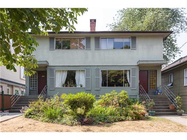 "Main Photo: 1526 E 10TH Avenue in Vancouver: Grandview VE House Duplex for sale in ""COMMERCIAL DRIVE"" (Vancouver East)  : MLS®# V1133946"