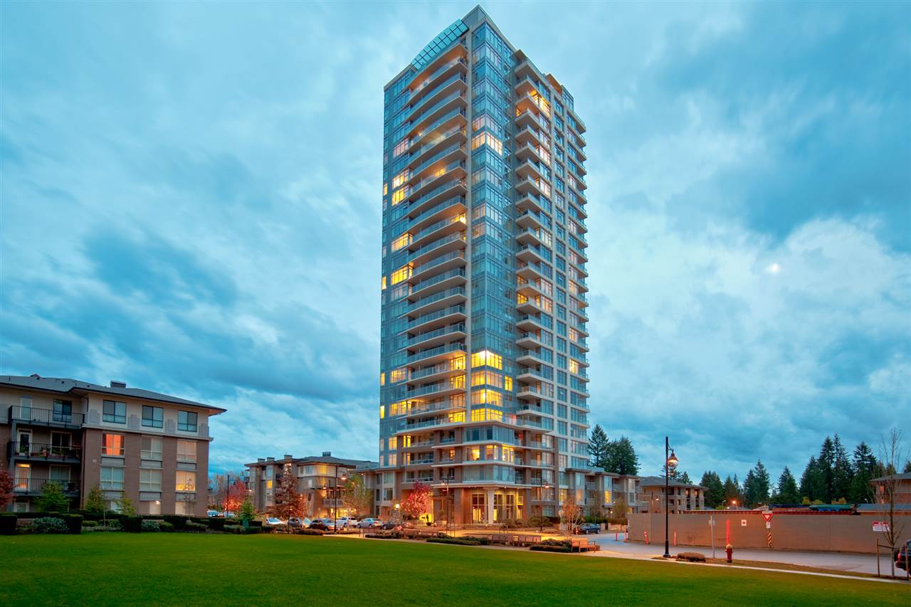 "Main Photo: 1502 3102 WINDSOR Gate in Coquitlam: New Horizons Condo for sale in ""CELADON AT WINDSOR GATE POLYGON"" : MLS® # R2138902"