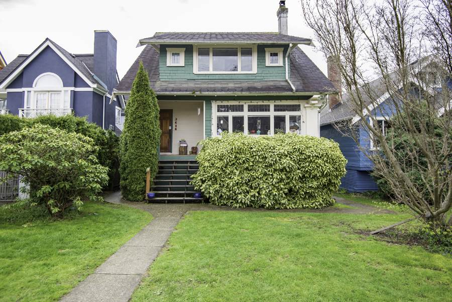 Main Photo: 3616 W 5TH Avenue in Vancouver: Kitsilano House for sale (Vancouver West)  : MLS(r) # R2156281