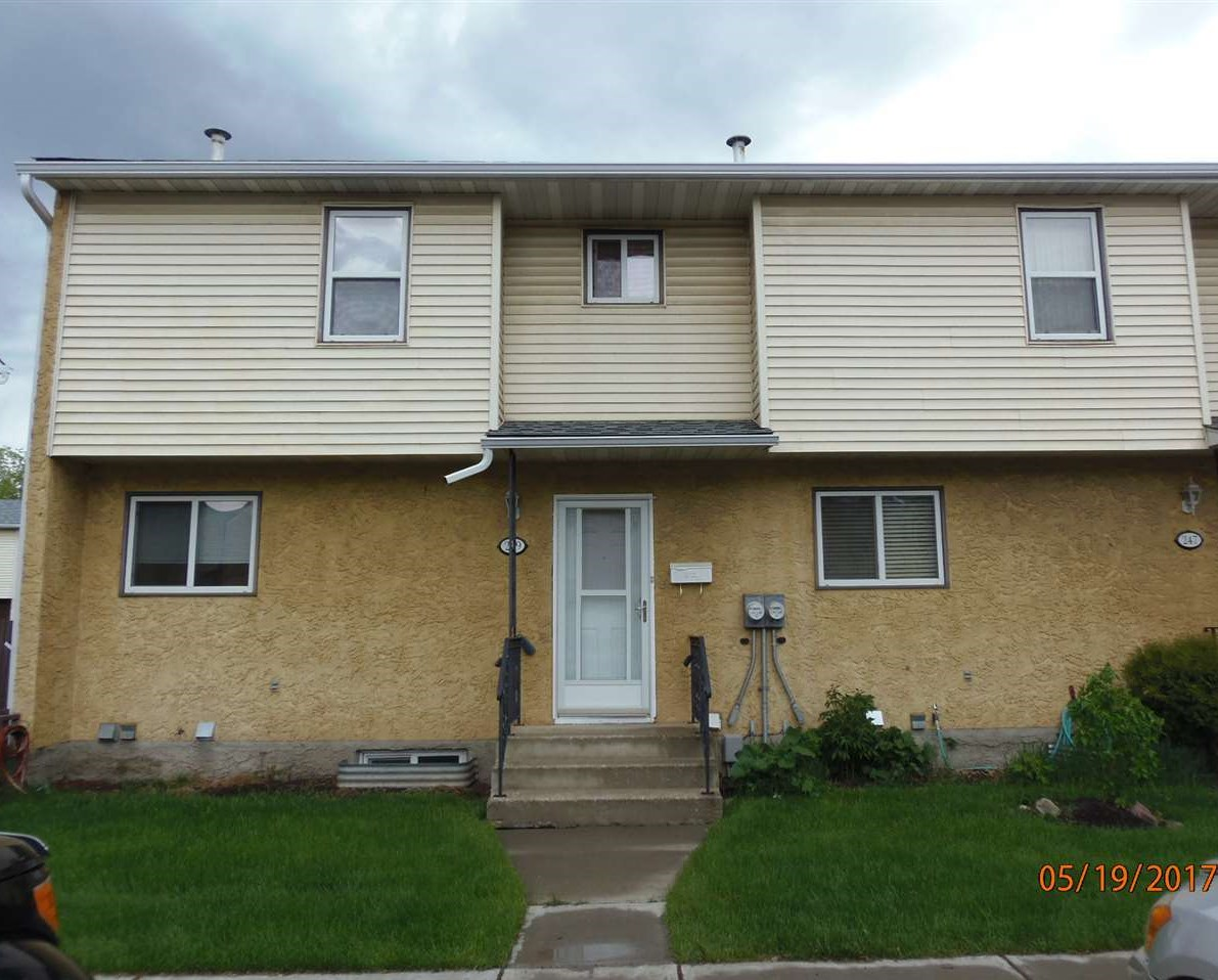 Main Photo: 249 HARRISON Drive in Edmonton: Zone 35 Townhouse for sale : MLS® # E4064404