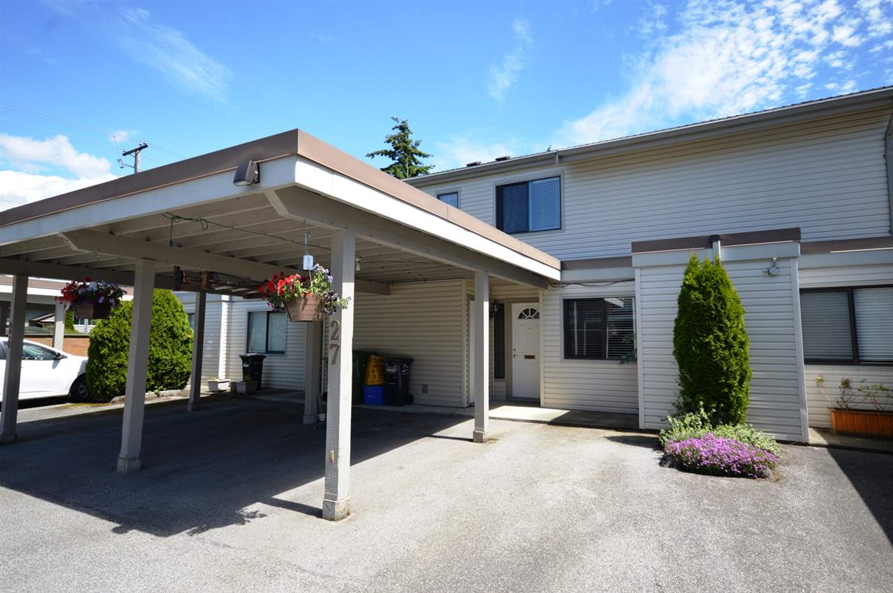 "Main Photo: 27 4700 FRANCIS Road in Richmond: Boyd Park Townhouse for sale in ""PARKSVILLE ESTATES"" : MLS® # R2178511"