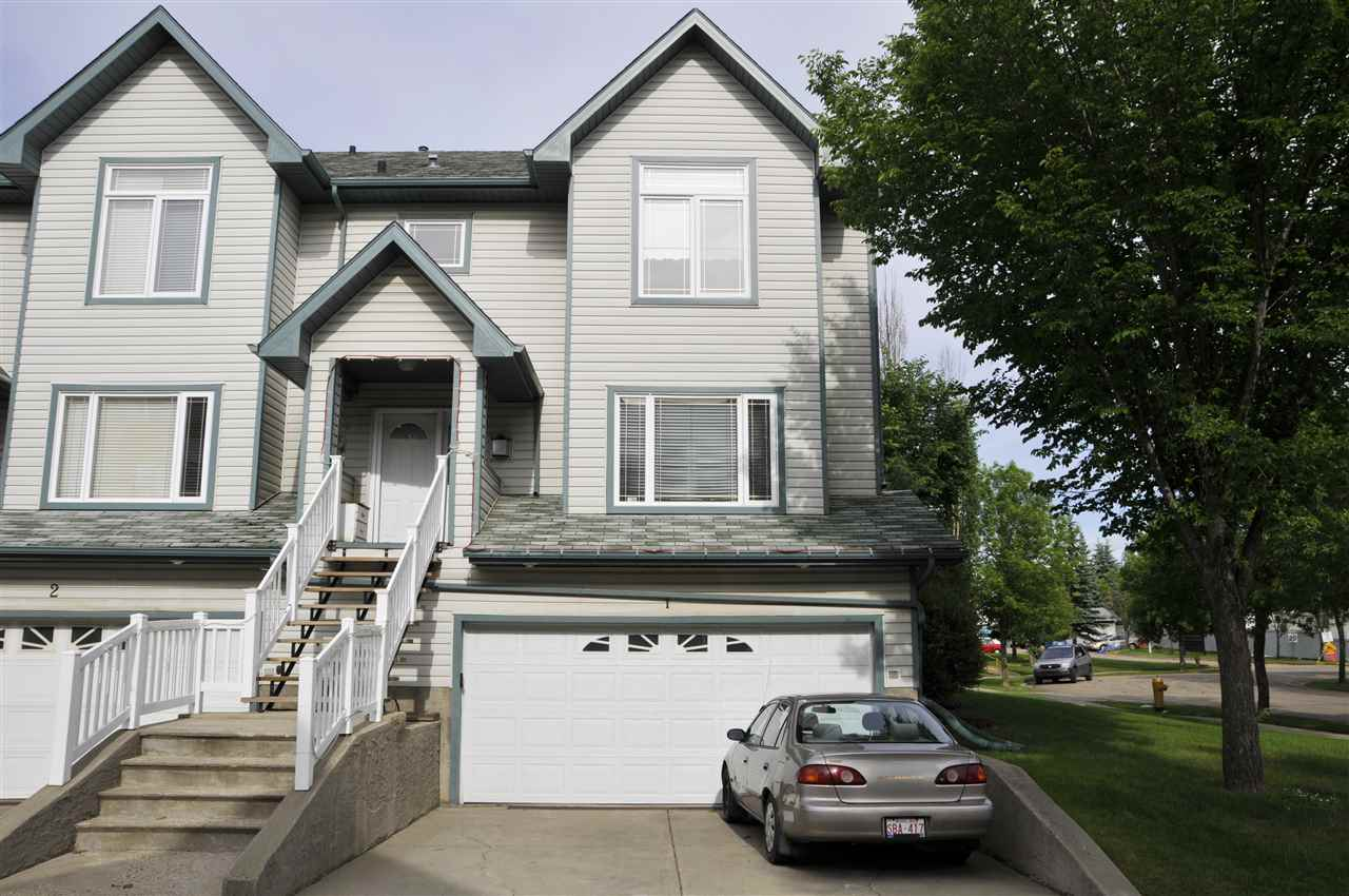 Main Photo: 1 2 HUDSON Road: St. Albert Townhouse for sale : MLS(r) # E4069618