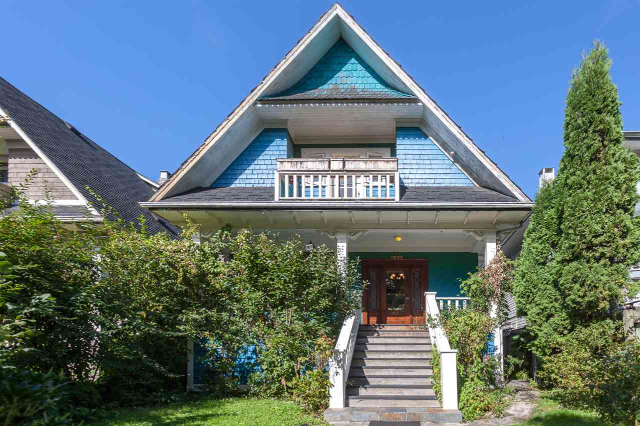 "Main Photo: 1423 E 11TH Avenue in Vancouver: Grandview VE House for sale in ""COMMERCIAL DRIVE"" (Vancouver East)  : MLS®# R2213839"