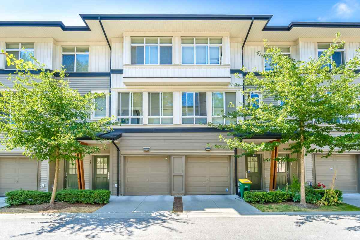 Main Photo: 51 1125 KENSAL Place in Coquitlam: New Horizons Townhouse for sale : MLS®# R2293827