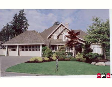 Main Photo: 2309 133RD ST in White Rock: House for sale (Elgin/Chantrell)  : MLS(r) # F2613674