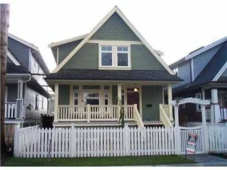 Main Photo: 1850 8TH Ave E in Vancouver East: Grandview VE Home for sale ()  : MLS® # V941911