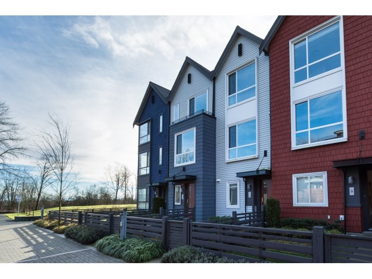 "Main Photo: 10 2332 RANGER Lane in Port Coquitlam: Riverwood Townhouse for sale in ""Fremont Blue"" : MLS®# R2022229"