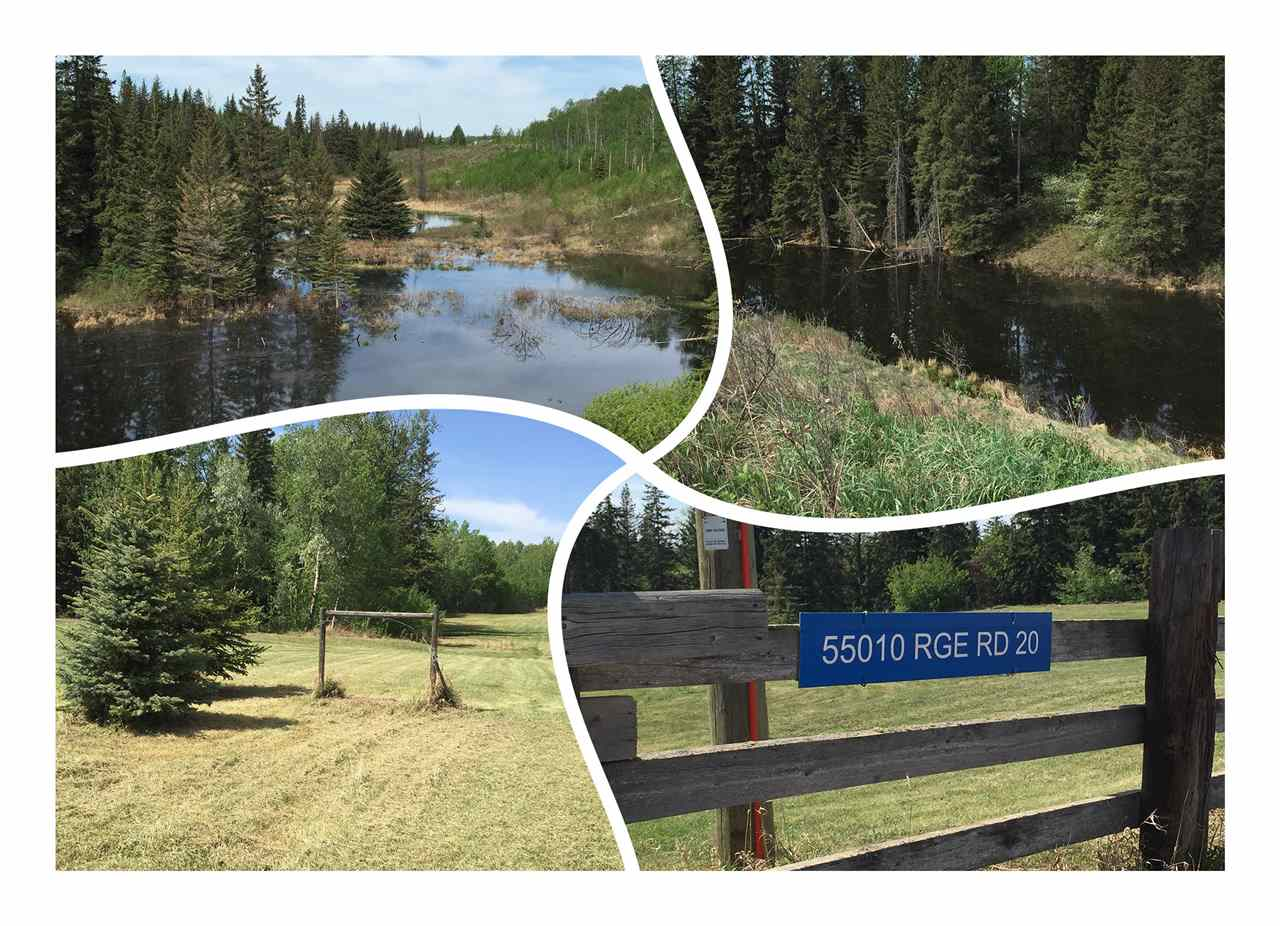 Main Photo: 55010 RR 20: Rural Lac Ste. Anne County Rural Land/Vacant Lot for sale : MLS(r) # E4052178